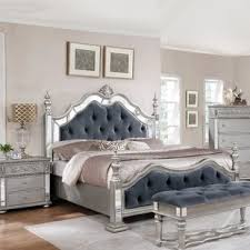 brazia mirrored bedroom furniture king bedroom sets you ll love wayfair