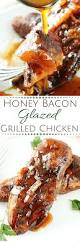 thanksgiving dinner in a can honey bacon glazed chicken the chunky chef