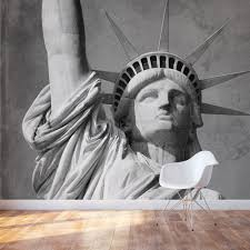 statue of liberty wall mural statue of liberty accent wall mural