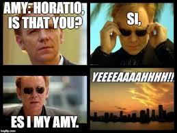 Horatio Meme Generator - csi imgflip