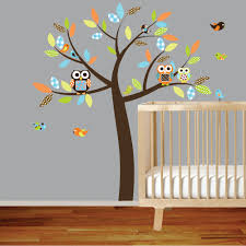 Tree Decals For Walls Nursery by Owl Tree Wall Decal Roselawnlutheran