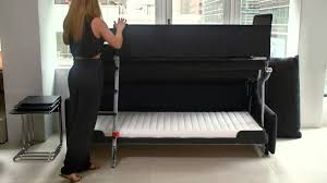 Furniture Sofa Bed Palazzo Resource Furniture Bunk Bed System Youtube