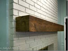Wood Mantel Shelf Plans by 25 Best Distressed Mantle Ideas On Pinterest Fireplace Redo
