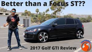 volkswagen gti blue 2017 2017 volkswagen golf gti review the best fun car under 32k