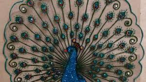 Designs Of Wall Hanging With C D How To Create A Beautiful Plastic Peacock Design Diy Crafts