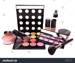 makeup artist equipment make equipment isolated on white background stock photo 83650306