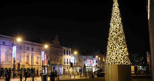 controversial cardiff christmas tree has been scrapped after only
