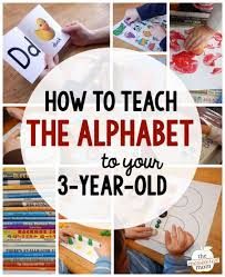 letter of the week with a 3 year old the alphabet learning the