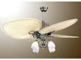 leaf ceiling fan with light palm leaf ceiling fans oasis palm leaf ceiling fan with light kit