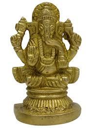 Home Decor Ebay by Shiv Parivar Statue Decorative Religious Brass Gold Tone Office
