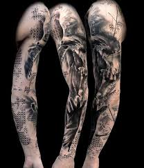 42 spectacular full sleeve tattoos designs looks great on your