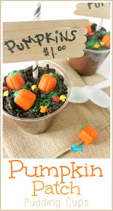 the original diy pumpkin patch pudding cups for fall and halloween
