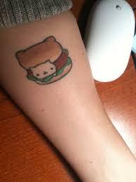 kawaii sanx nyan nyan nyanko cat tattoo