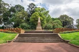 Perth Botanic Gardens A Statue Of In Park And Botanical Gardens In