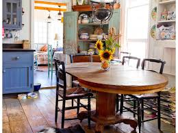 Farmhouse Dining Rooms How To Clean Granite Farmhouse Dining Room Rikki Snyder