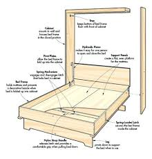 murphy bed plan smartwedding co