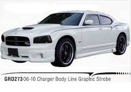charger line strobe graphic