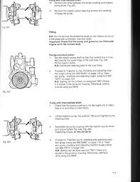 how do you set the pump timing on a volvo td63 es
