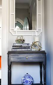 Blue Entryway Table by Our Home Home With Keki