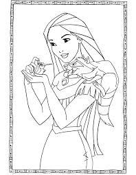 disneypocahontas coloring pages