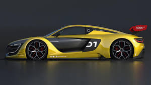 renault supercar see renault u0027s stunning race car in action top gear