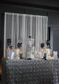Black And White Candy Buffet Ideas by Custom Candy Buffet By Kcee U0027s Candy Buffets Black U0026 White
