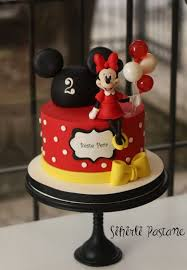 Red Minnie Mouse Cake Decorations Best 25 Daisy Duck Cake Ideas On Pinterest Fondant Animals