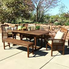 Dining Table Bench With Back Shown With Amber Bench And Lazy Susanoutdoor Furniture Timber
