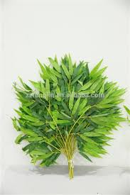 wholesale artificial bamboo leaves arrangement bamboo trees