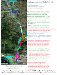 De Anza Map A Class One Bike Path Between San Luis Obispo And Pismo Beach
