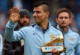 aguero akhirnya dapat penghargaan top skor berita sepak bola terkini