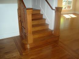 Laminate Flooring Installation On Stairs Red Oak Floor Stains Quarter Sawn Red Oak Stained Nutmeg
