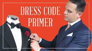dress code primer for men what to wear for black tie optional