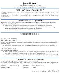 nursing resumes templates free 40 top professional resume templates