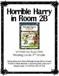 horrible harry in room 2 b comprehension trifold 2nd grade