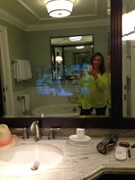 Tv In Mirror Bathroom by The Villas At The Grand Floridian Set The Bar For Luxury At Disney