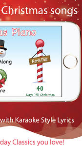 christmas piano with songs on the app store