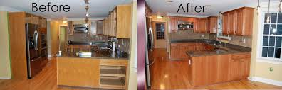 Bathroom Cabinet Refacing Before And After by Reface Kitchen Cabinets Before After Cabinet Refacing Cabinet