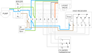 y plan central heating system within timer wiring diagram
