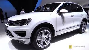 2015 volkswagen touareg v6 tdi r line exterior and interior