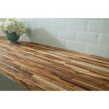 acacia butcher block countertop 8ft 96in x 25in 100136050