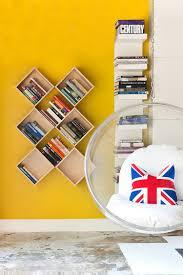 creative idea kids room shelves designs utilizing x shaped wood