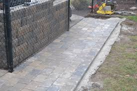 Paver Patio Installation How To Lay A Brick Patio About On Uncategorized Design