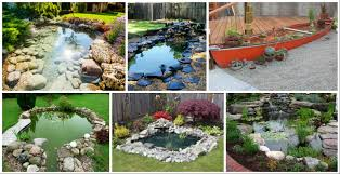 Backyard Pond Ideas 13 Diy Awesome Natural Backyard Pond Ideas For All Budgets
