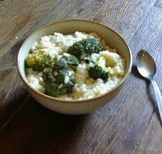 cuisiner des brocolis frais risotto au brocoli et chèvre frais 120 cook