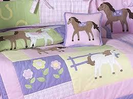 Pony Comforter Horse Baby Crib Set Baby Crib Design Inspiration