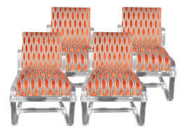 Vintage Outdoor Folding Chairs Viyet Designer Furniture Seating Vintage Acrylic Chairs
