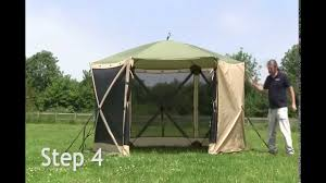 Gazebo Screen House by Quest Elite Spring Up Screen House 6 Youtube