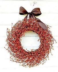 amazon com fall wreath fall door wreath orange wreath autumn