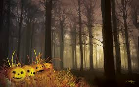 halloween forest background top halloween forest happy wallpapers